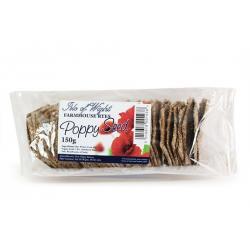 Farmhouse Crackers  - Poppy Seed Ryes