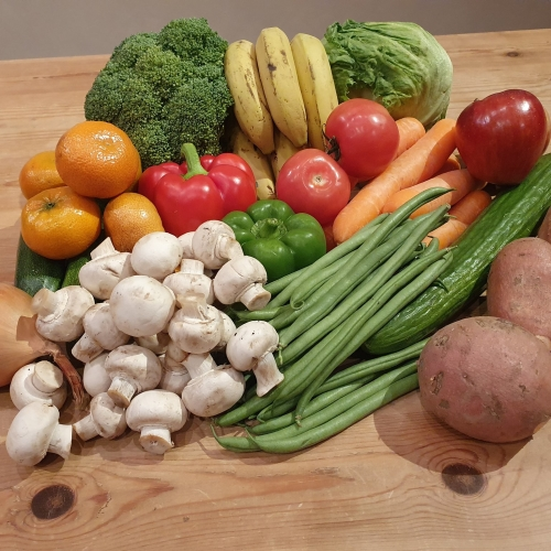 Medium Fresh Fruit, Veg & Salad Box