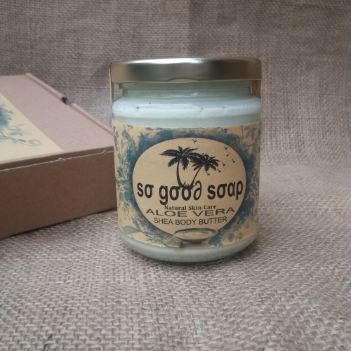 ALOE VERA SHEA BODY BUTTER Available In 150g 100g 50g