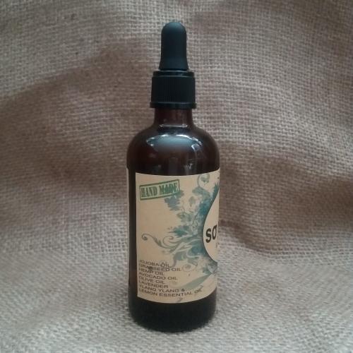 ALL NATURAL  Peppermint Hair Oil   100 ml