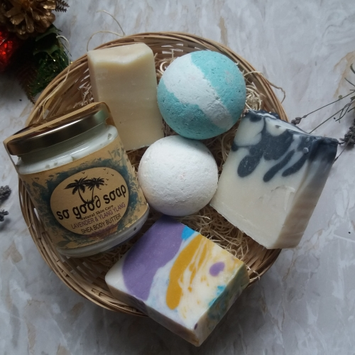 Natural Skincare Gift Box  Pamper Vegan