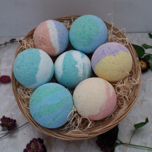 Natural Bath Bombs Gift Set 6