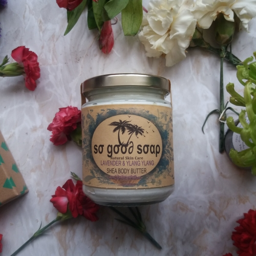 LAVENDER SHEA BUTTER CREAM Available In 150g 100g 50g