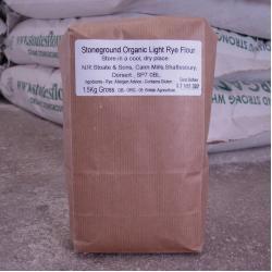 Organic Light Rye Flour 1.5kg