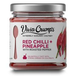Red Chilli, Pineapple & Pepper Chutney