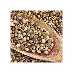 Natural Whole Hemp Seeds