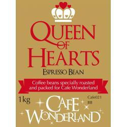 Queen of Hearts Espresso Bean Coffee