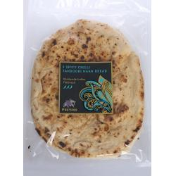 2 Spicy Chilli Naan Breads (Medium)