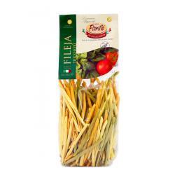 Fileja Pasta Three Colours
