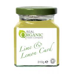 Lime & Lemon Curd - Real Organic