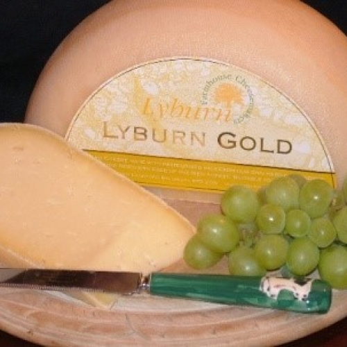 Lyburn Gold Cheese (Quarter Wheel)