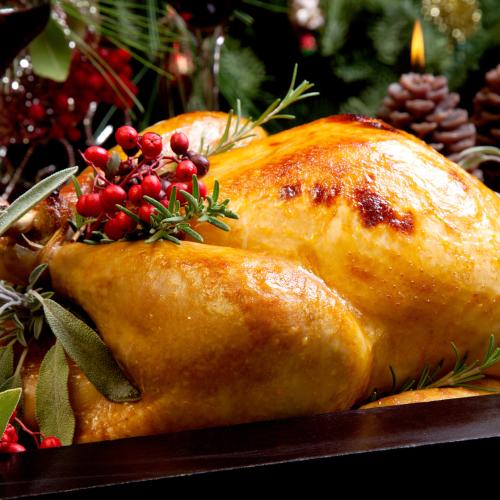 24lb Free range white turkey
