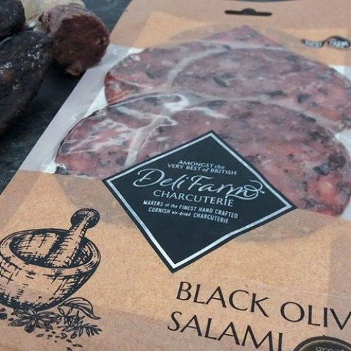 Black Olive Salami