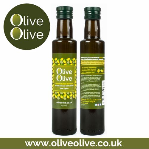 Lemon Fused Olive Oil 250ml