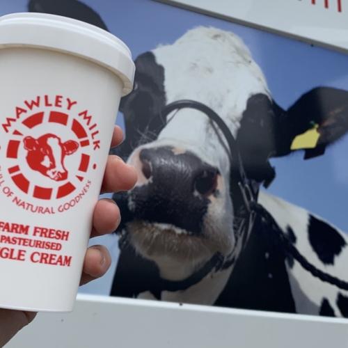 Mawley Single Cream 250ml  (pasteurised)