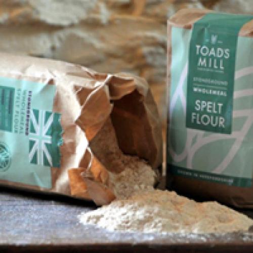 British Grown 25kg Wholemeal Spelt Flour