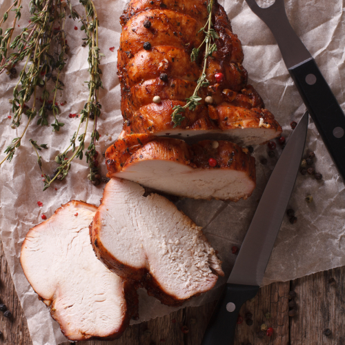 Free Range WHITE Turkey Breast Roll