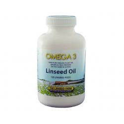 120 Linseed (Flaxseed) Capsules