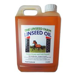 Linseed/Flaxseed Oil For Horses