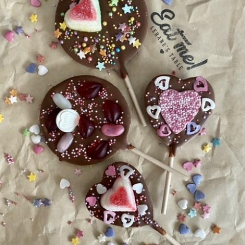 Be My Valentine Lollypop Gift Set