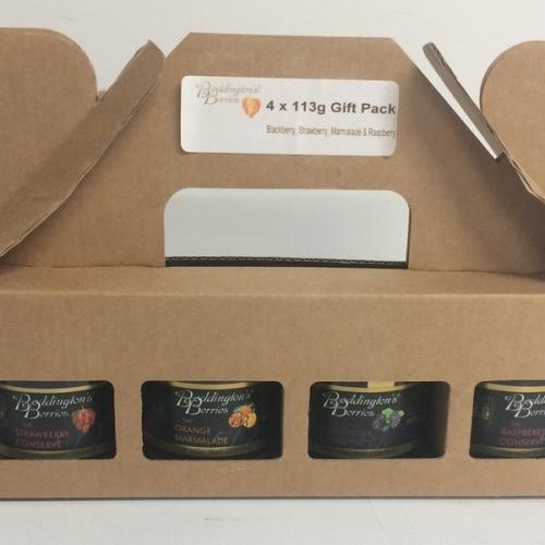 Gift Pack - 4 x 113g Jars