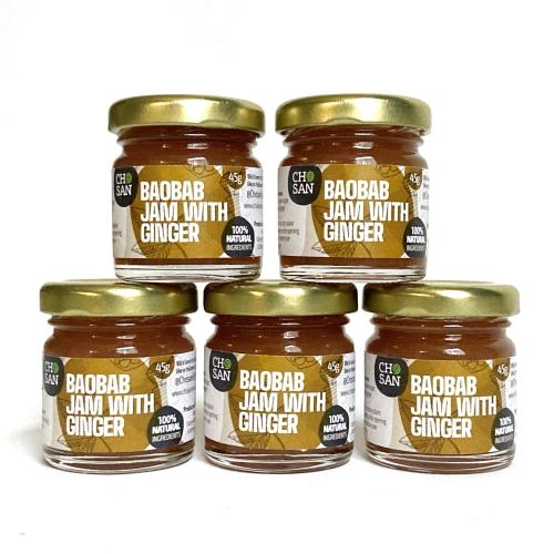 Spicy Sweet Baobab Jam with Ginger mini jam (5)
