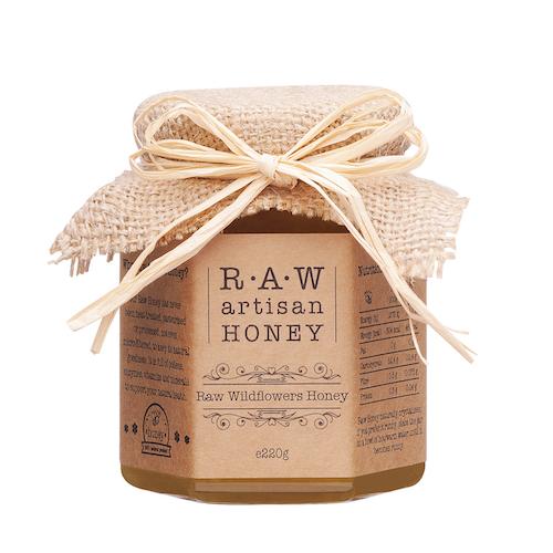 Raw Artisan Wild Flower Honey