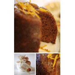 Marmalade Pudding with Orange Liqueur