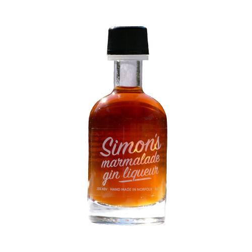 Simon' Marmalade Gin Liqueur 5cl