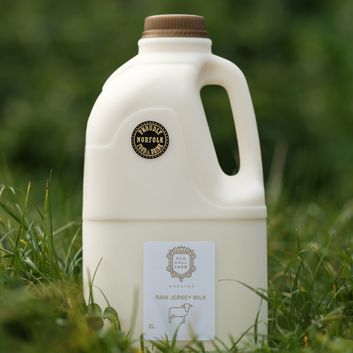 8 Litres of Raw Jersey Milk