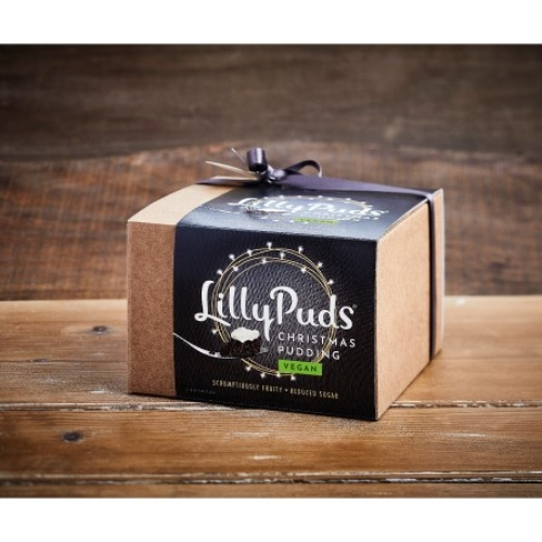 LillyPuds Vegan Christmas Pudding 454g