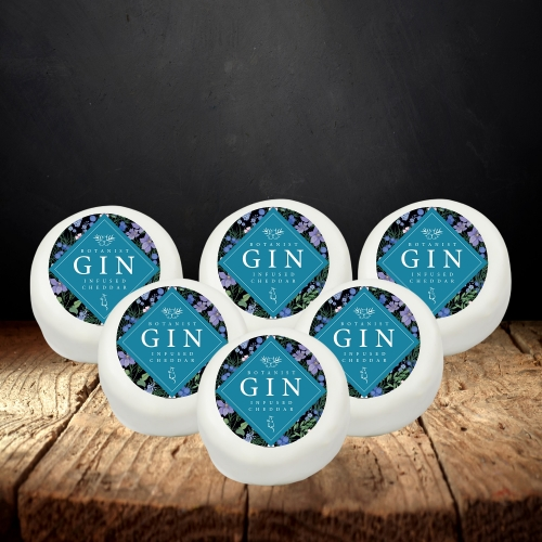 Botanist Gin and Tonic Cheddar Truckle 6-Pack (1140g)
