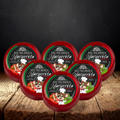 Margherita Pizza Cheddar Truckle 6-Pack (1200g)