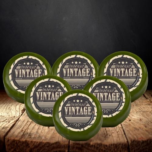 Vintage Cheddar Truckle 6-Pack (1200g)