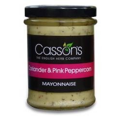 Coriander and Pink Peppercorn Mayonnaise