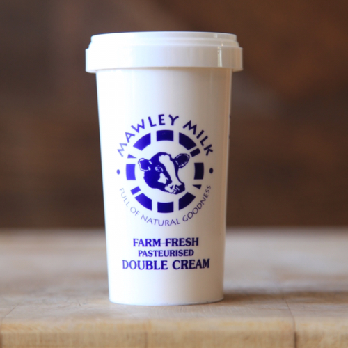Mawley Fresh Double Cream (pasteurised)