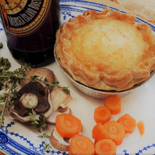 BEEF & OYSTER STOUT PIE