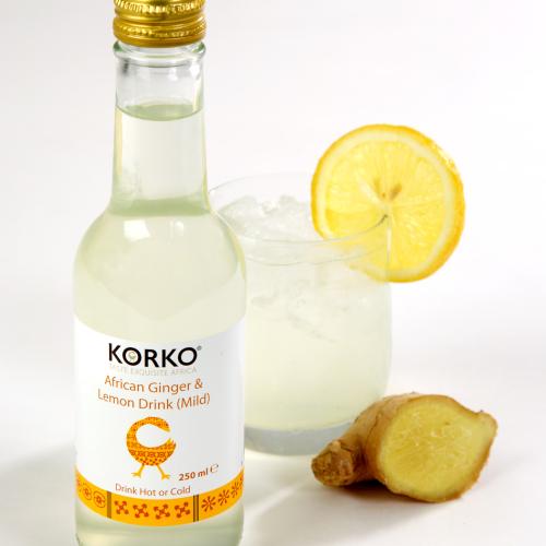 African Ginger and Lemon Drink