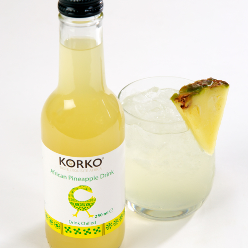 African Refreshing Pineapple Drink