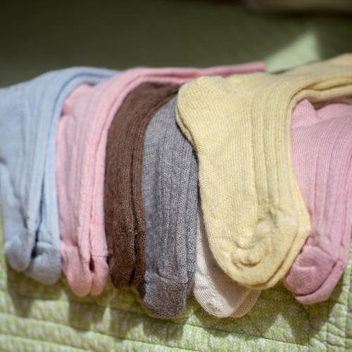 90% Alpaca Luxury Bed Socks 11-13 Nat