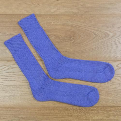 Alpaca Walking socks Electric Blue 8-10