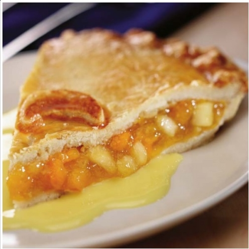 Large Apple & Apricot Pie
