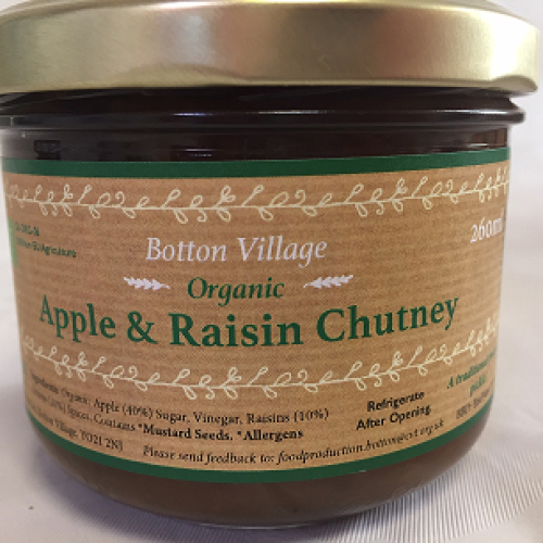 Apple & Raisin Chutney, Organic