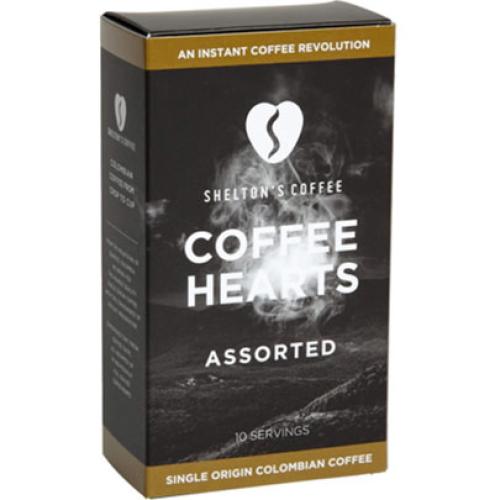 SHELTON'S ASSORTED COFFEE HEARTS