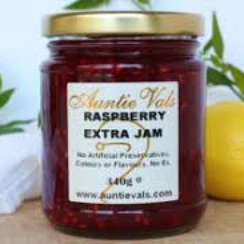 Auntie Vals Raspberry Jam