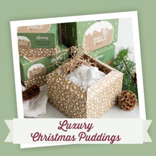 Baker Tom Luxury Christmas Pudding