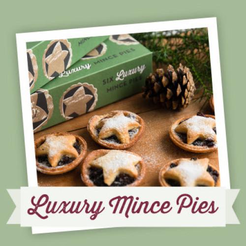 Baker Tom Luxury Mince Pies