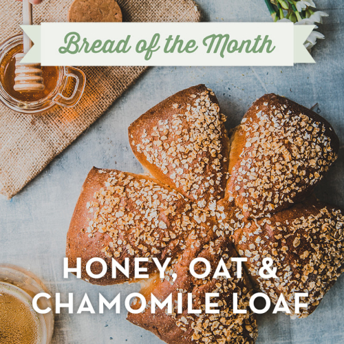 BAKER TOM HONEY, OAT & CHAMOMILE LOAF