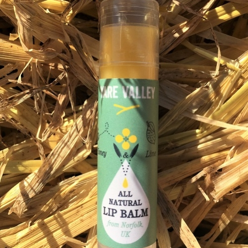 All Natural Honey and Lime Lip Balm 4g Stick