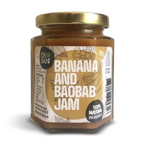 Fruity Banana and Baobab Jam